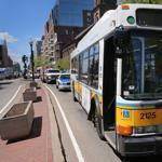 The MBTA pays twice as much for bus maintenance as most other transit agencies in the country, according to a report.