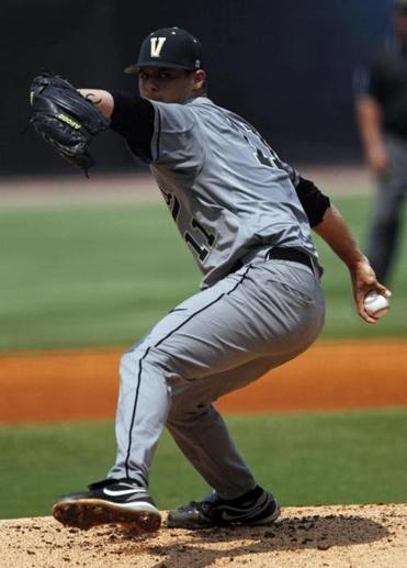 Tyler Beede, an Auburn native, pitches for Vanderbilt University and raps as Young Beedah.