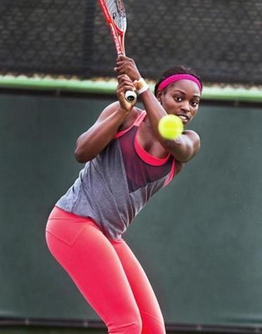 Sloane Stephens, daughter of ex-Patriots running back John Stephens, is ranked 17th in the world.