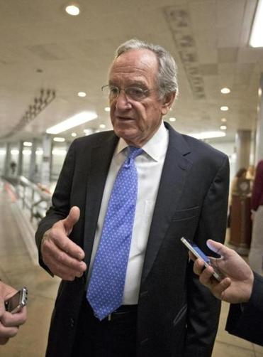 Senator Tom Harkin, an Iowa Democrat, will file a bill calling for automatic enrollment in a retirement plan.