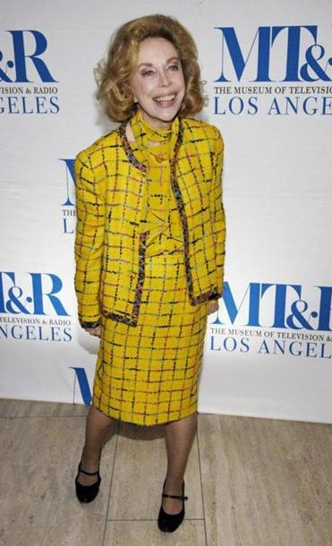 "Joyce Brothers arrived for the ""She Made It: Women Creating Television and Radio"" salute at the Museum of Television & Radio in Beverly Hills, Calif., in this Dec. 5, 2006, photo."
