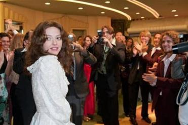 "Scene from the film, ""Lovelace,"" the opening night feature at this year's Provincetown International Film Festival."