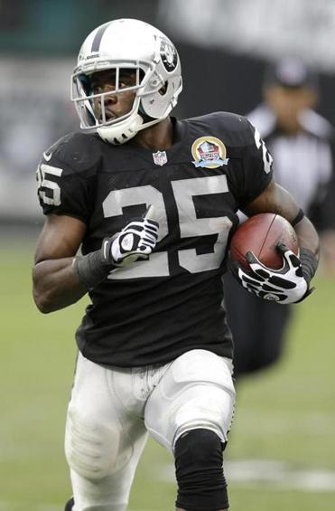 The Jets signed former Raiders running back Mike Goodson to a three-year, $6.9 million deal in the offseason.