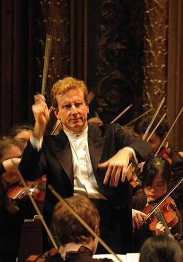 Hugh Wolff directs the NEC Philharmonia.