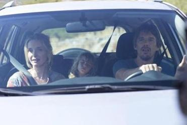 A scene in Richard Linklater's film involving a long drive will be familiar to many couples.
