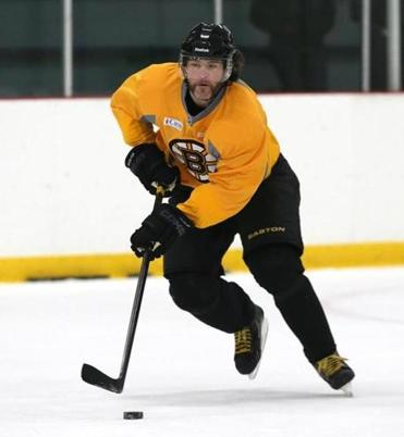 Jaromir Jagr practiced with the Bruins ahead of the the trip to Pittsburgh for Game 1.