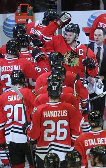 The Blackhawks came back from a 3-1 series deficit to defeat the Red Wings.