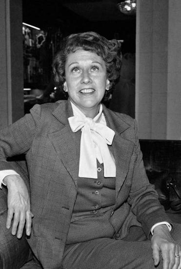 Actress Jean Stapleton during an interview in 1977.