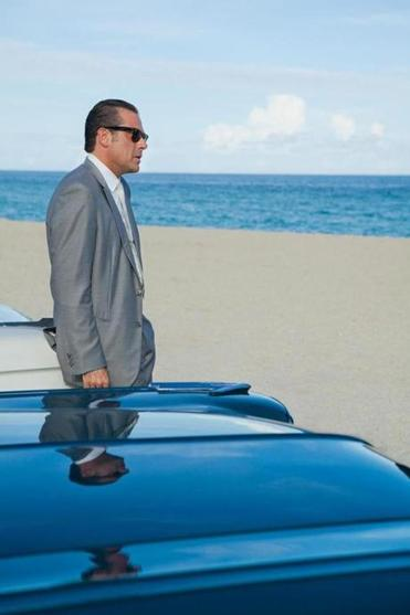Jeffrey Dean Morgan is Ike Evans, thw owner of a high-end Miami Beach hotel that has gotten in too deep with the mob.