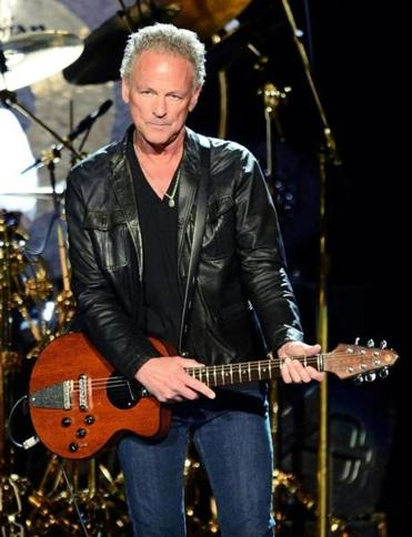 """Fleetwood Mac's politics are sort of like walking through a minefield,"" says  Lindsey Buckingham."