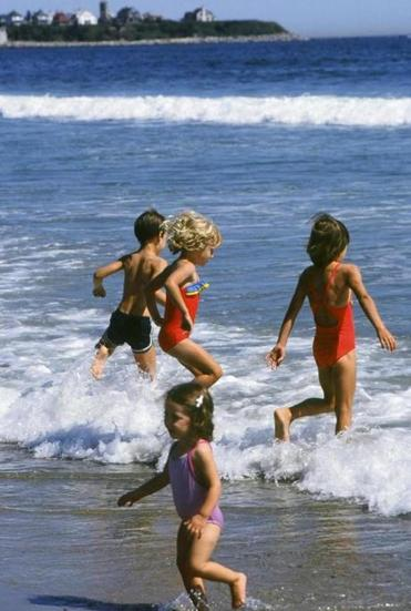 Sun, surf, and miles of white, sandy beaches draw families to Hampton Beach every summer.