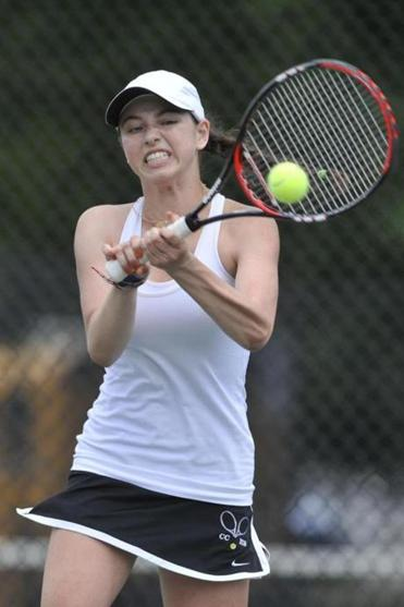 Concord-Carlisle's Julia Cancio defeated Winchester's Karen McKeough for the second straight postseason.
