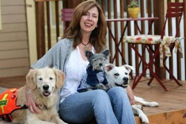Susannah Charleson's book looks at dogs that are trained to help owners who suffer from psychiatric problems.