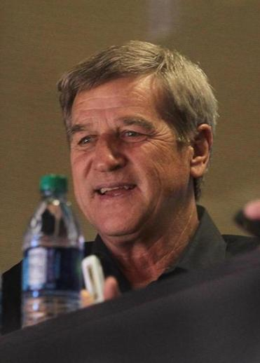 Bobby Orr was in the TD Garden to watch the Bruins on Monday.