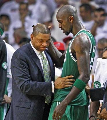 Doc Rivers couldn't bear to go through a rebuild with Kevin Garnett and the Celtics.