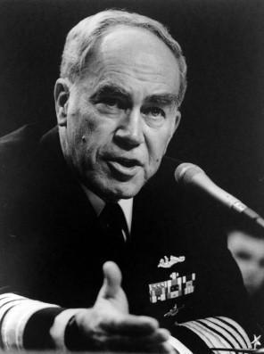 Admiral Kelso directed the Navy's military actions in the Persian Gulf War.