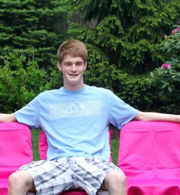 Adam Lassman, 17, of Needha, is founder of the Pink Seat Project, which works to raise awareness of breast cancer as well as funds to battle the disease.