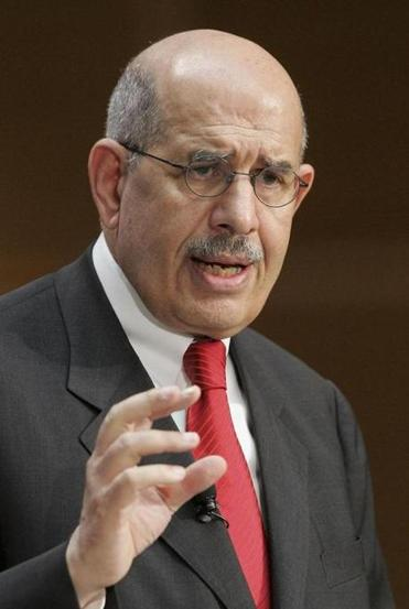 ElBaradei won the Nobel Peace Prize in 2005 for his work with the International Atomic Energy Agency.