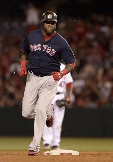 David Ortiz was supposed to have the night off Friday to rest his sore heel but he pinch hit in the eighth and belted a two-run homer, his 17th of the season.