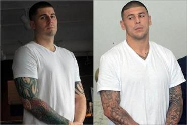 Jon Niedzwiecki's resemblance to Aaron Hernandez is remarkable, and there is no shortage of people to point that out.