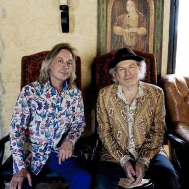 Jim Lauderdale (left) and Buddy Miller became friends while playing country music in New York in the early 1980s.