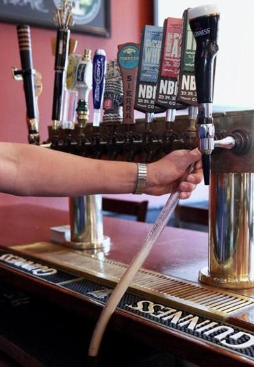 The Glanola system enables lines to be cleaned each time a keg is emptied.