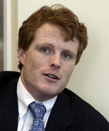 US Representative Joseph Kennedy III is seen in a Feb. 11, 2013 interview.