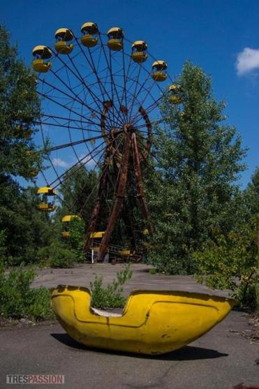 "See images of what remains at ""Trespassion: Inside Chernobyl's Exclusion Zone."""