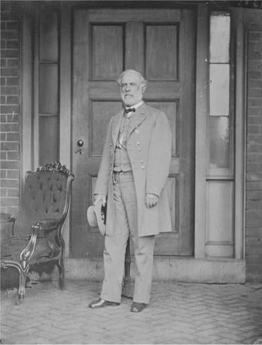 General Robert E. Lee in Richmond the day after he returned home from Appomattox (April 16, 1865).