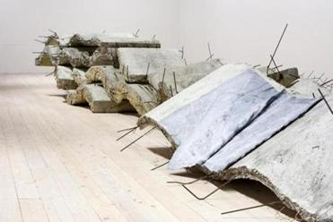 "Kiefer's ""Etroits sont les Vaisseaux (Narrow Are the Vessels)."""