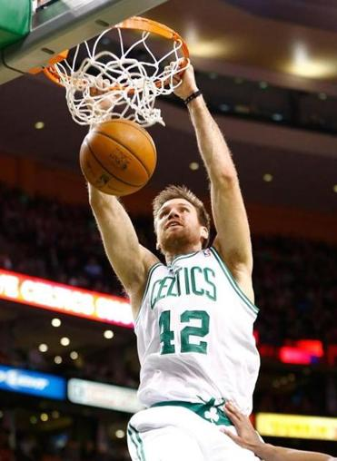 Forward Shavlik Randolph had high-end production in limited minutes as a backup for the Celtics last season.