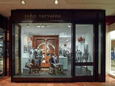 The new John Varvatos store in Copley Place.