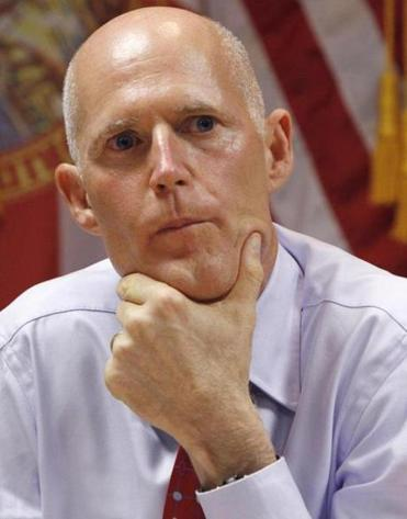 A note from Florida Governor Rick Scott, a Republican, to Massachusetts businesses drew the Patrick administration's ire.