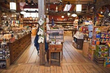 The sprawling Vermont Country Store carries items like Lanz flannel nightgowns (and ruffled nightcaps) plus ingenious kitchen implements, penny candy, local cheeses, and much more.