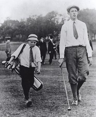 Francis Ouimet and caddie Eddie Lowery stunned the golf world by winning the 1913 US Open at The Country Club in Brookline.