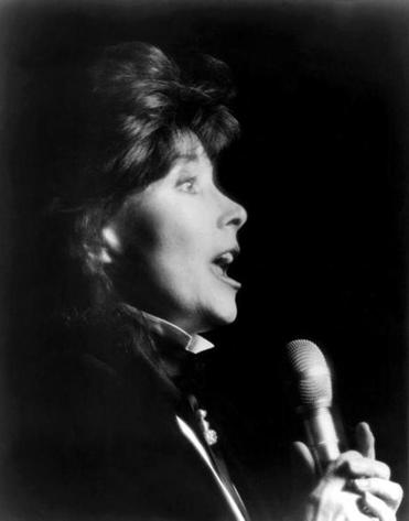 Jazz singer Jane Harvey performed at Freddy's Supper Club in New York.