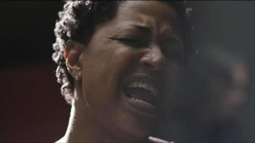 "Lisa Fischer in ""20 Feet From Stardom."""