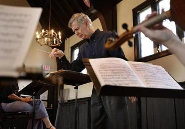 Richard Pittman founded and leads Boston Musica Viva.