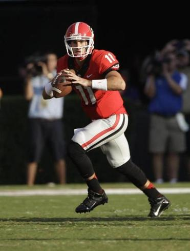 Aaron Murray turned in one of his best games in Georgia's win over South Carolina, throwing four touchdown passes.