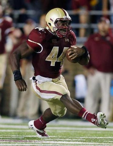 Andre Williams rushed for a career-high 204 yards against Wake Forest.
