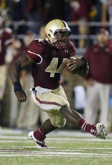 Andre Williams rushed for a career-high 204 yards to lead BC to a 24-10 victory over Wake Forest last Friday night.
