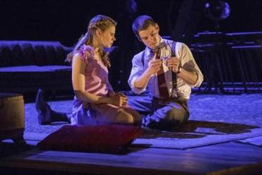 "Celia Keenan-Bolger and Brian J. Smith in the ART's ""Glass Menagerie."""