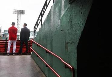 In late September, Francona conferred with Epstein in the stands at Fenway Park as the Red Sox tried to top their slide.