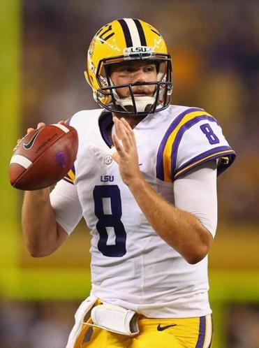 In his third year at LSU, Zach Mettenberger has the Tigers in title contention.