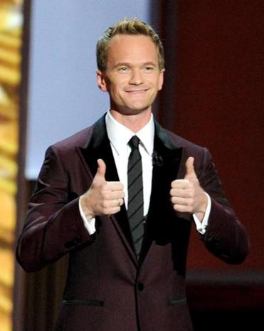 Host Neil Patrick Harris at the 65th Emmy Awards.