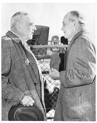 29kinzerB In 1953 John Foster Dulles (left) became secretary of state and Allen Dulles became director of the Central Intelligence Agency. It was the only time in history that siblings controlled the overt and covert sides of American foreign policy.