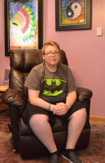 Kasey Caron, 17, who identifies as male, will be on the ballot for homecoming queen.