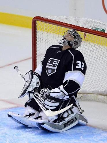 Kings goalie Jonathan Quick.