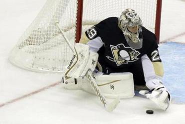 Pittsburgh Penguins goalie Marc-Andre Fleury.