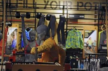 A grand opening for Reebok's South Shore Plaza store on Saturday will feature a CrossFit competition.